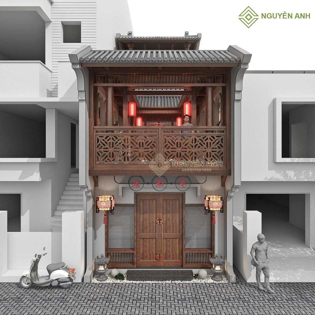 thiết kế china house tại việt nam. thiết kế nhà phố, bảng giá thiết kế nhà giá rẻ
