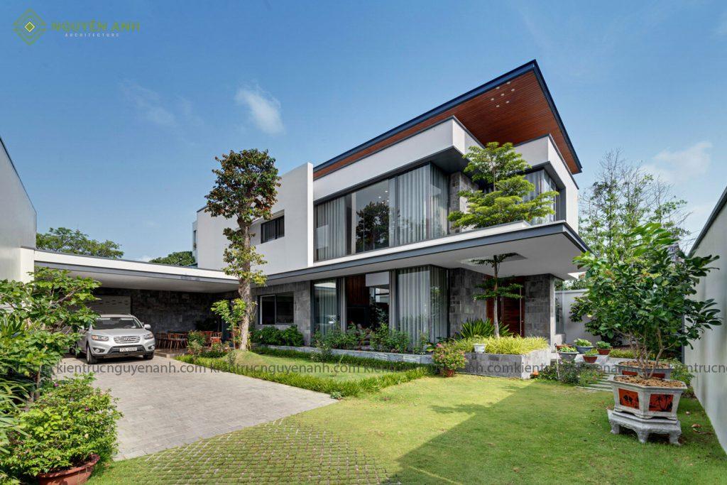 thiết kế biệt thự hiện đại tại phú yên
