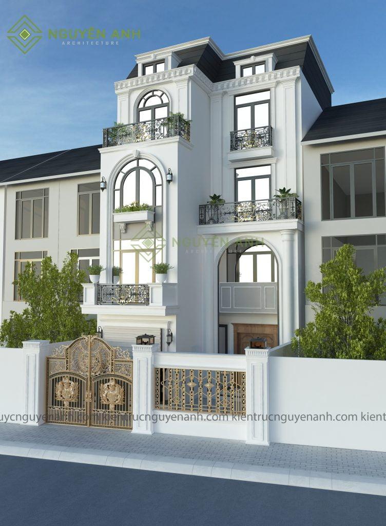 thiết kế biệt thự tại mai dịch-hà nội.thiết kế nhà phố, bảng giá thiết kế nhà giá rẻ