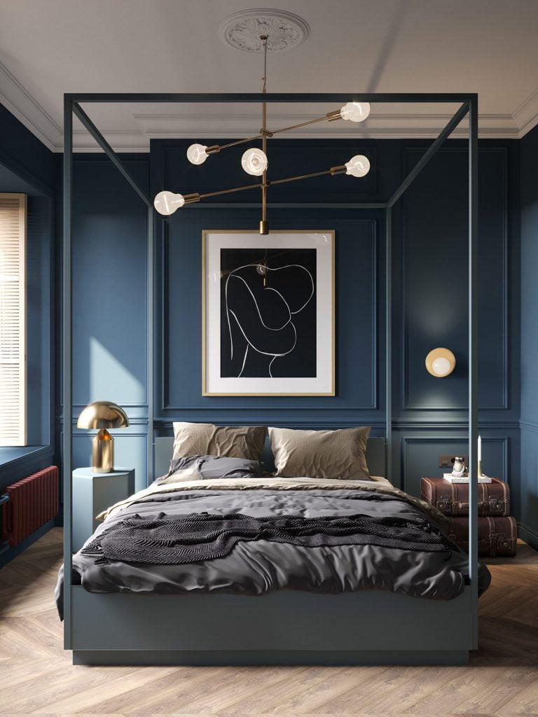 thiết kế giường ngủ cao cấp