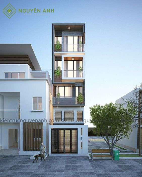 thiết kế nhà giá rẻ tại thái bình..công trình trong gói thiết kế nhà giá rẻ số 1 tại Thái Bình.