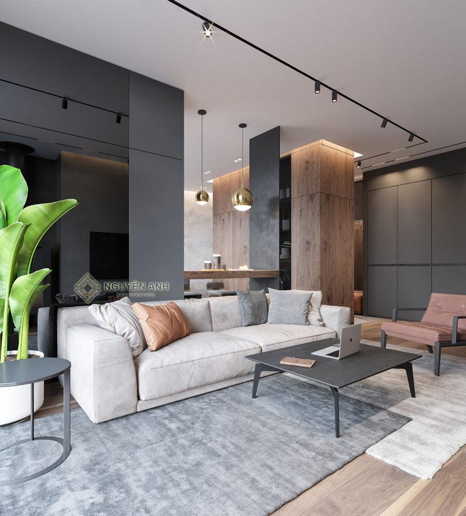 thiết kế nội thất hiện đại tại hà nội