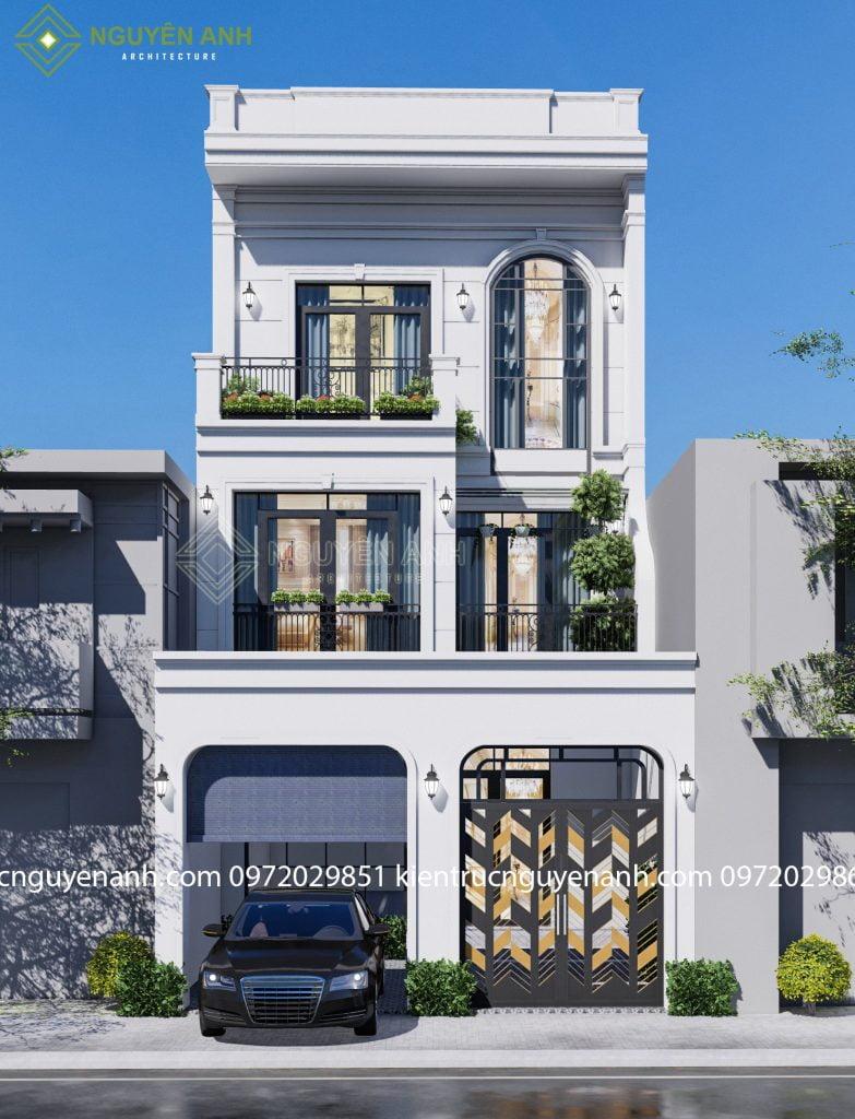 thiết kế nhà tại thạch thất. thiết kế nhà phố, bảng giá thiết kế nhà giá rẻ